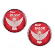 Velké náušnice pecky - Pokémon - Team Valor