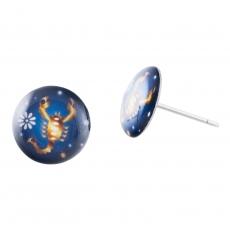 Náušnice pecky - Horoskop - Štír