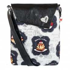 Černá taška Dafné -  Candy