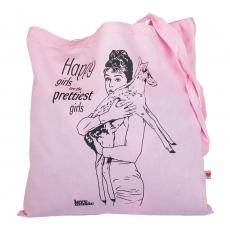 Plátěná taška -  Happy girls