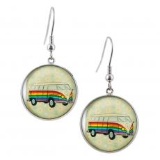 Kulaté náušnice - Hippie Car