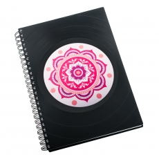 Diář 2017 - Mandala růžová