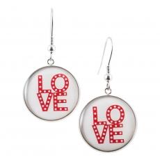 Kulaté náušnice - Love - Love