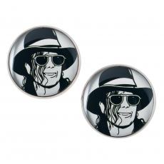 Velké náušnice pecky - Michael Jackson