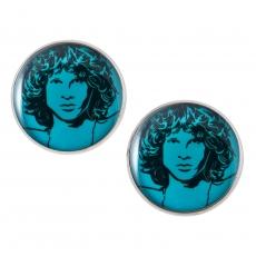 Large Stud Earrings - Jim Morrison