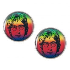 Velké náušnice pecky - John Lennon