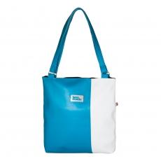 Dámská kabelka Diana modrobílá