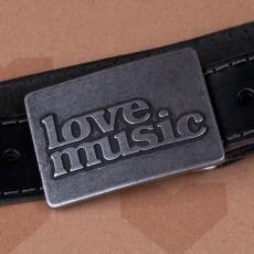 Opasková spona Lovemusic - 4 cm