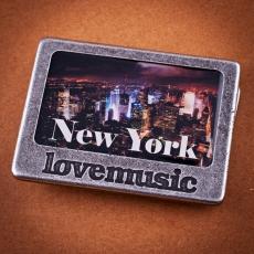 Opasková spona - 4 cm -  New York