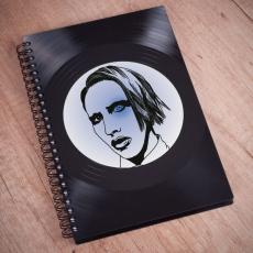Diář 2017 - Marilyn Manson